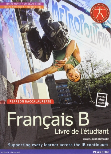 pearson baccalaureate francais b new bundle print and online editionmarie-laure delvallee