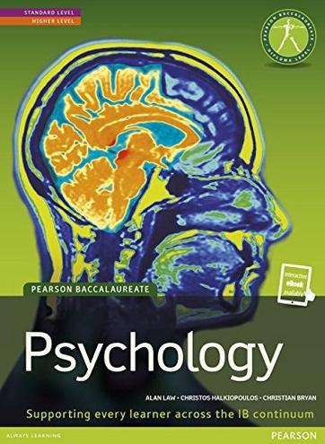Ib psychology sl study guide
