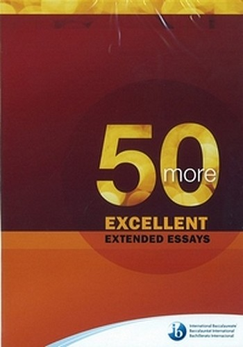 50 great extended essays Browse and read 50 great extended essays 50 great extended essays when there are many people who don't need to expect something more than the benefits to take, we.