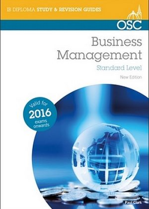Business and Management – The IB Bookshop