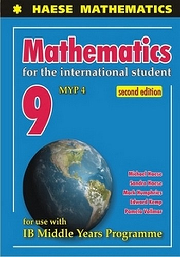 Mathematics For The International Student 9 Myp 4 2nd Edition