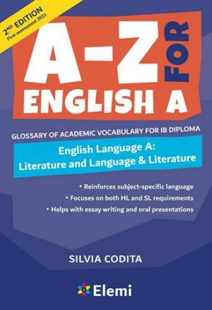 A to Z For English A
